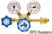 Brass Single-Stage Regulator Model HPD