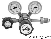 Stainless Steel Two-Stage Regulator Model AGD