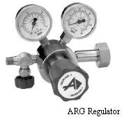 Corrosive Gas Regulators Single Stage Model ARG